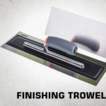 finishing trowel