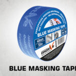 blue masking tape thumb