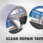 clear repair tape thumb