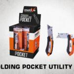 folding pocket utility knife thumb