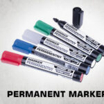 permanent markers thumb