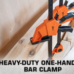 heavy-duty one-handed bar clamp thumb