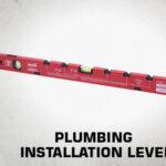 plumbing installation level thumb