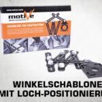 Winkelschablone mit Loch-Positionierung 070 123 thumb