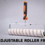 Adjustable roller frame thumb