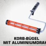 Korb-Bügel mit Aluminiumdraht thumb