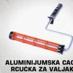 Aluminijumska cage ručka za valjak thumb